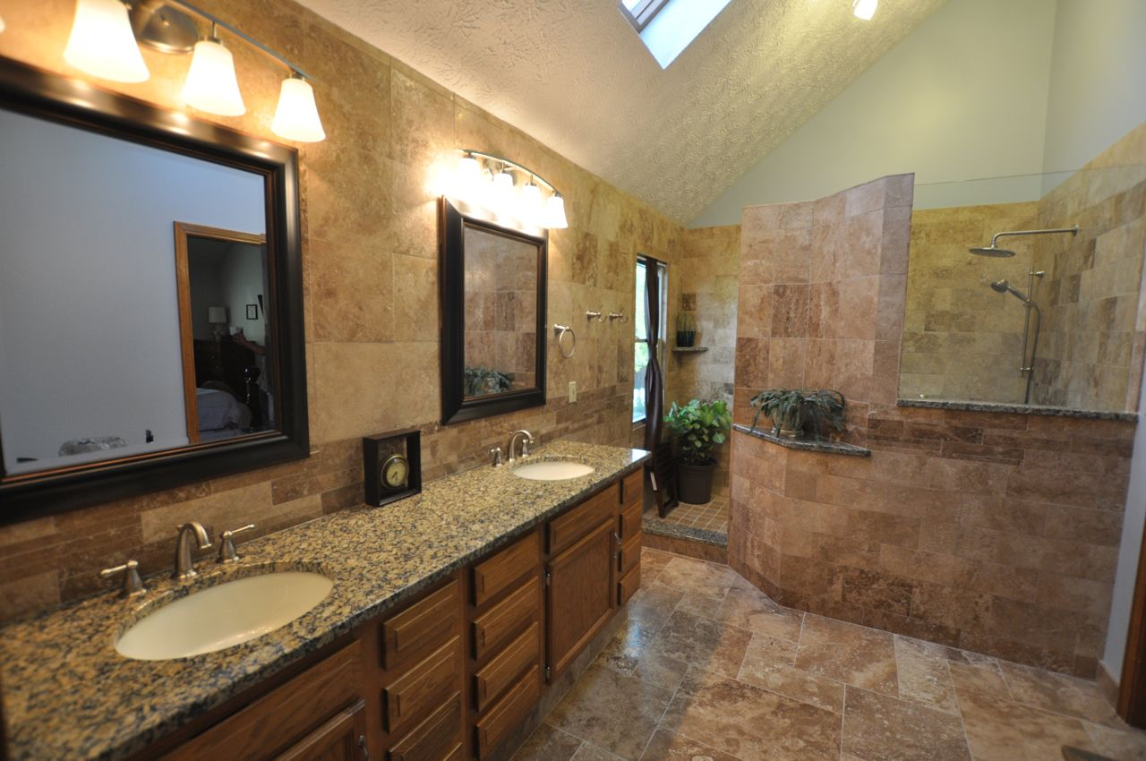 Bathroom remodeling houston fiesta construction - Pictures of bathroom shower remodel ideas ...