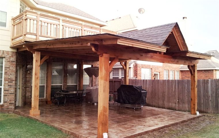 patio design and home fixtures